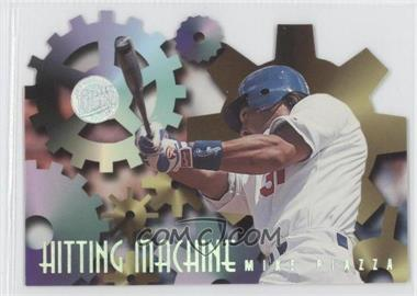 1996 Fleer Ultra Hitting Machines Gold Medallion Edition #7 - Mike Piazza