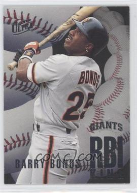 1996 Fleer Ultra RBI Kings #4 - Barry Bonds