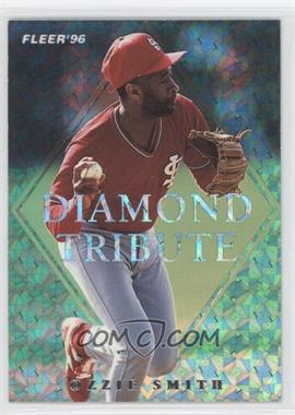 1996 Fleer Update - Diamond Tribute #9 - Ozzie Smith