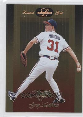 1996 Leaf Limited Gold #10 - Greg Maddux