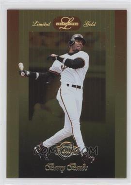 1996 Leaf Limited Gold #71 - Barry Bonds