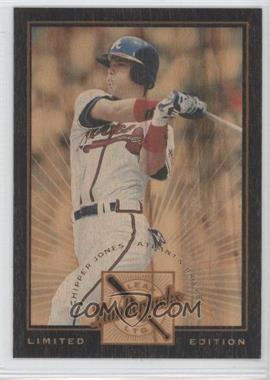 1996 Leaf Limited Lumberjacks Limited Edition #7 - Chipper Jones /500