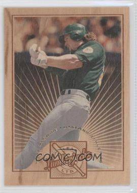 1996 Leaf Limited Lumberjacks #10 - Mark McGwire /5000