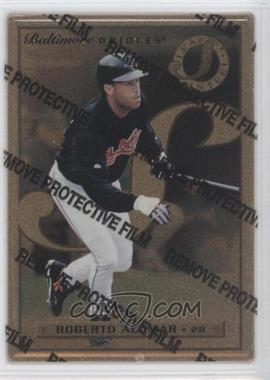 1996 Leaf Preferred Steel Gold #12 - Roberto Alomar