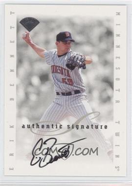 1996 Leaf Signature Series - Signatures Update #ERBE - Erik Bennett /5000