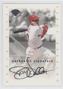 1996 Leaf Signature Series Signatures Update [Autographed] #DAVA - Dave Valle