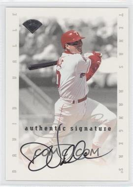 1996 Leaf Signature Series Signatures Update [Autographed] #N/A - Dave Valle