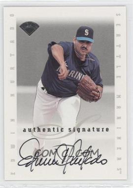 1996 Leaf Signature Series Signatures Update [Autographed] #N/A - Edwin Hurtado