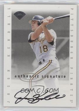 1996 Leaf Signature Series Signatures Update [Autographed] #N/A - Jason Kendall