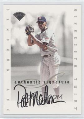 1996 Leaf Signature Series Signatures Update [Autographed] #N/A - Pat Mahomes