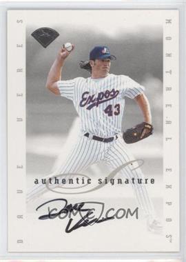 1996 Leaf Signature Series Signatures Update #DAVE - Dave Veres