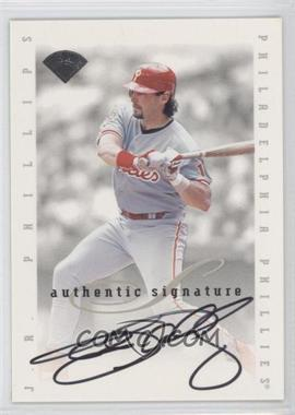1996 Leaf Signature Series Signatures Update #JRPH - J.R. Phillips