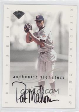1996 Leaf Signature Series Signatures Update #PAMA - Pat Mahomes