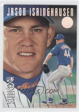 1996 Leaf Studio Silver Press Proof #38 - Jason Isringhausen /100