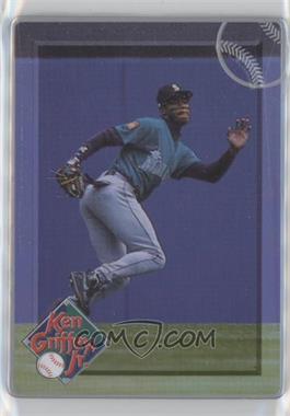 1996 Metallic Impressions Major League Metal Ken Griffey Jr. - Collector's Tin [Base] #4 - Ken Griffey Jr.