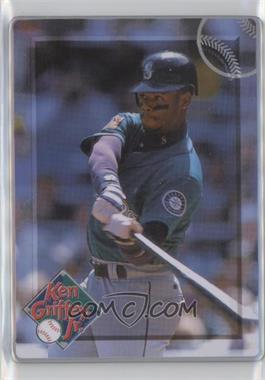 1996 Metallic Impressions Major League Metal Ken Griffey Jr. - Collector's Tin [Base] #5 - Ken Griffey Jr.