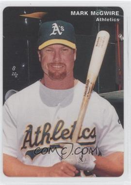 1996 Mother's Cookies Oakland Athletics Stadium Giveaway [Base] #2 - Mark McGwire