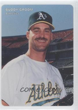 1996 Mother's Cookies Oakland Athletics Stadium Giveaway [Base] #22 - Buddy Groom