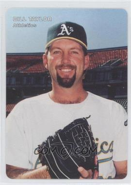 1996 Mother's Cookies Oakland Athletics Stadium Giveaway [Base] #24 - Billy Taylor