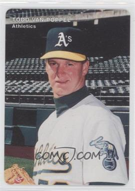 1996 Mother's Cookies Oakland Athletics Stadium Giveaway [Base] #25 - Todd Van Poppel