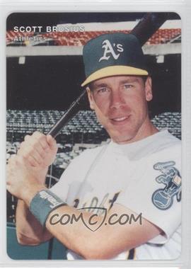 1996 Mother's Cookies Oakland Athletics Stadium Giveaway [Base] #7 - Scott Brosius