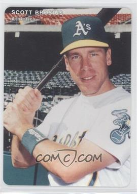 1996 Mother's Cookies Oakland Athletics Stadium Giveaway [Base] #7 - Scott Brosius