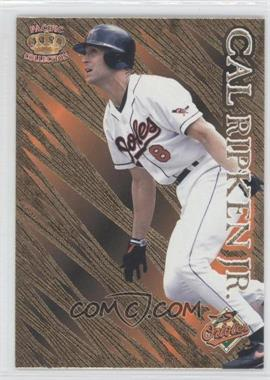 1996 Pacific Prisms Gold #P-77 - Cal Ripken Jr.