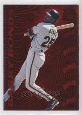 1996 Pacific Prisms Red Hot Stars #15 - Barry Bonds