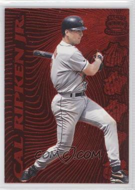 1996 Pacific Prisms Red Hot Stars #19 - Cal Ripken Jr.