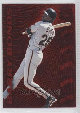 1996 Pacific Prisms Red Hot Stars #RH-15 - Barry Bonds