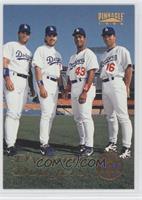 Eric Karros, Mike Piazza, Raul Mondesi, Hideo Nomo