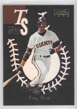 1996 Pinnacle [???] #12 - Barry Bonds
