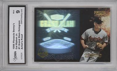 1996 Pinnacle Denny's Grand Slam Holograms - [Base] - Artist's Proof #1 - Cal Ripken Jr. [ENCASED]