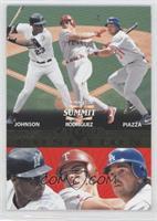 Ivan Rodriguez, Mike Piazza, Charles Johnson /1500