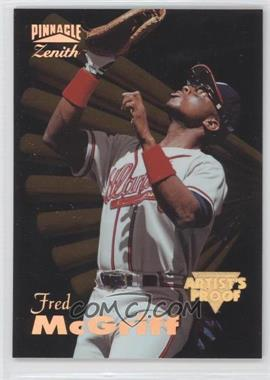 1996 Pinnacle Zenith Artist's Proof #10 - Fred McGriff