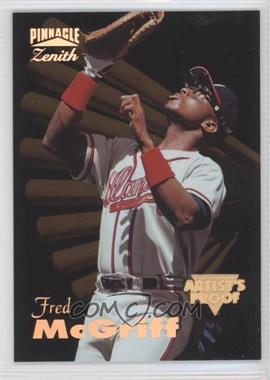 1996 Pinnnacle Zenith [???] #10 - Fred McGriff