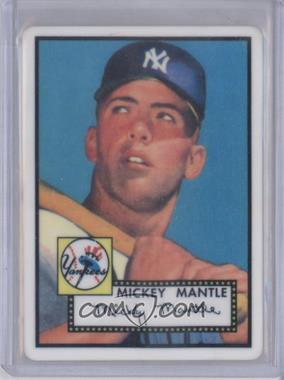 1996 R&N China Topps Porcelain Mickey Mantle Reprints #311 - Mickey Mantle