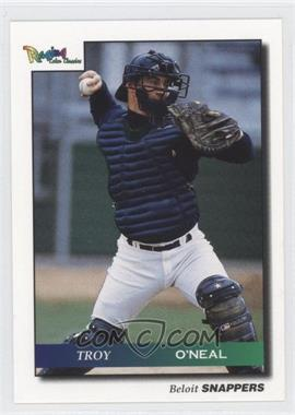 1996 Raging Color Classics Beloit Snappers - [Base] #TRON - Troy O'Neal