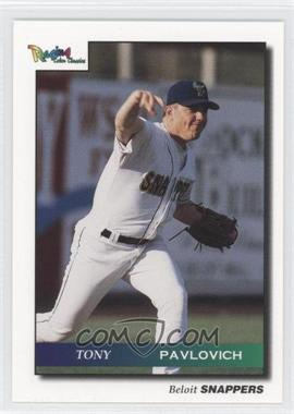 1996 Raging Color Classics Beloit Snappers #9720K - Tony Pavlovich