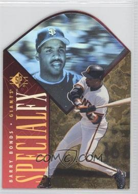 1996 SP - Holoview Special FX - Die-Cut #25 - Barry Bonds