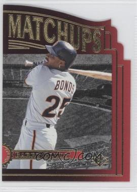 1996 SP - Marquee Matchups - Die-Cut #MM8 - Barry Bonds