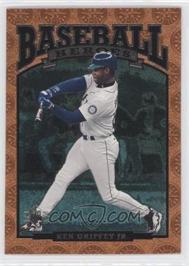 1996 SP Baseball Heroes #90 - Ken Griffey Jr.