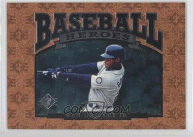 1996 SP Baseball Heroes #NoN - Ken Griffey Jr.