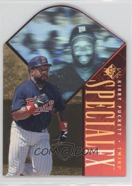 1996 SP Holoview Special FX Die-Cut #16 - Kirby Puckett