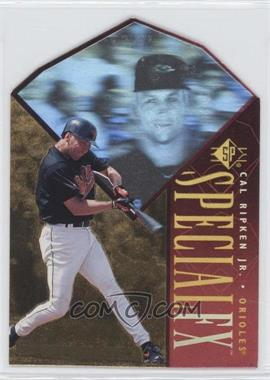 1996 SP Holoview Special FX Die-Cut #20 - Cal Ripken Jr.