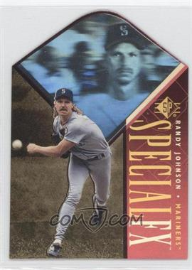 1996 SP Holoview Special FX Die-Cut #31 - Randy Johnson