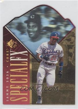 1996 SP Holoview Special FX Die-Cut #33 - Sammy Sosa