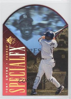 1996 SP Holoview Special FX Die-Cut #40 - Tony Gwynn