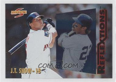 1996 Score - Reflextions #5 - J.T. Snow, Don Mattingly