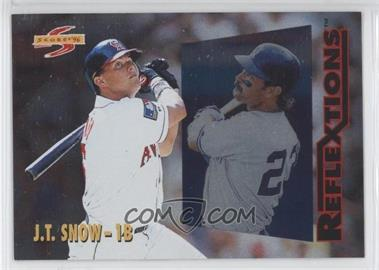 1996 Score - Reflextions #5 - J.T. Snow, Don Mattingly